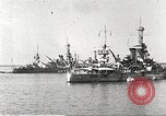 Image of battleships Scotland, 1918, second 10 stock footage video 65675060921