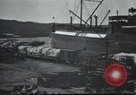 Image of US Army guarding supply ship in Siberia Soviet Russia World War 1 Siberia Soviet Union, 1917, second 4 stock footage video 65675060926