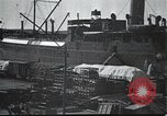 Image of US Army guarding supply ship in Siberia Soviet Russia World War 1 Siberia Soviet Union, 1917, second 6 stock footage video 65675060926