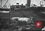Image of US Army guarding supply ship in Siberia Soviet Russia World War 1 Siberia Soviet Union, 1917, second 7 stock footage video 65675060926