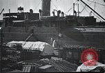 Image of US Army guarding supply ship in Siberia Soviet Russia World War 1 Siberia Soviet Union, 1917, second 8 stock footage video 65675060926