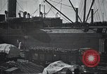 Image of US Army guarding supply ship in Siberia Soviet Russia World War 1 Siberia Soviet Union, 1917, second 9 stock footage video 65675060926