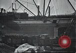 Image of US Army guarding supply ship in Siberia Soviet Russia World War 1 Siberia Soviet Union, 1917, second 10 stock footage video 65675060926