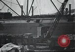 Image of US Army guarding supply ship in Siberia Soviet Russia World War 1 Siberia Soviet Union, 1917, second 11 stock footage video 65675060926
