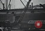 Image of US Army guarding supply ship in Siberia Soviet Russia World War 1 Siberia Soviet Union, 1917, second 12 stock footage video 65675060926