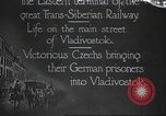 Image of Czech soldiers Vladivostok Russia, 1917, second 1 stock footage video 65675060927