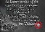 Image of Czech soldiers Vladivostok Russia, 1917, second 5 stock footage video 65675060927
