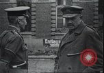 Image of British Field Marshal Julian Byng Europe, 1917, second 5 stock footage video 65675060930