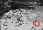 Image of  Waikiki Beach in Hawaii Honolulu Hawaii USA, 1941, second 3 stock footage video 65675060936