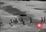 Image of  Waikiki Beach in Hawaii Honolulu Hawaii USA, 1941, second 7 stock footage video 65675060936