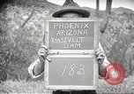 Image of Theodore Roosevelt Dam Phoenix Arizona USA, 1920, second 2 stock footage video 65675060952