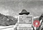 Image of Globe Arizona Apache Trail Phoenix Arizona USA, 1920, second 1 stock footage video 65675060953