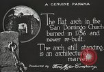 Image of arch of Saint Domingo Church Panama, 1919, second 7 stock footage video 65675060962