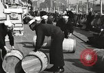Image of sailors rolling barrels New York United States USA, 1922, second 6 stock footage video 65675060983