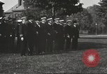 Image of Sir Eric Geddes views U.S. Naval Academy parade Annapolis Maryland USA, 1918, second 11 stock footage video 65675060989