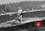 Image of Dog water skiing California United States USA, 1934, second 9 stock footage video 65675061011