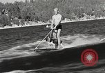 Image of Dog water skiing California United States USA, 1934, second 10 stock footage video 65675061011