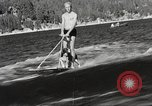 Image of Dog water skiing California United States USA, 1934, second 12 stock footage video 65675061011