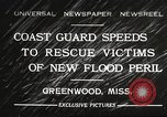 Image of Flood in Mississippi Greenwood Mississippi USA, 1932, second 1 stock footage video 65675061016