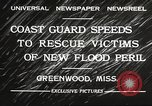 Image of Flood in Mississippi Greenwood Mississippi USA, 1932, second 9 stock footage video 65675061016