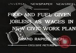 Image of Unemployment aid plan by George W Welsh Grand Rapids Michigan USA, 1932, second 1 stock footage video 65675061017