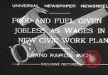 Image of Unemployment aid plan by George W Welsh Grand Rapids Michigan USA, 1932, second 4 stock footage video 65675061017