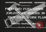 Image of Unemployment aid plan by George W Welsh Grand Rapids Michigan USA, 1932, second 5 stock footage video 65675061017