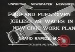 Image of Unemployment aid plan by George W Welsh Grand Rapids Michigan USA, 1932, second 6 stock footage video 65675061017