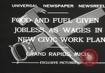 Image of Unemployment aid plan by George W Welsh Grand Rapids Michigan USA, 1932, second 7 stock footage video 65675061017