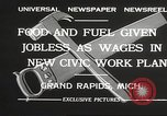 Image of Unemployment aid plan by George W Welsh Grand Rapids Michigan USA, 1932, second 8 stock footage video 65675061017