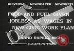 Image of Unemployment aid plan by George W Welsh Grand Rapids Michigan USA, 1932, second 9 stock footage video 65675061017