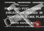 Image of Unemployment aid plan by George W Welsh Grand Rapids Michigan USA, 1932, second 11 stock footage video 65675061017