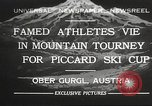 Image of skiing Obergurgl Austria, 1932, second 1 stock footage video 65675061022
