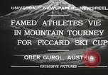 Image of skiing Obergurgl Austria, 1932, second 2 stock footage video 65675061022