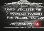 Image of skiing Obergurgl Austria, 1932, second 4 stock footage video 65675061022