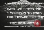 Image of skiing Obergurgl Austria, 1932, second 5 stock footage video 65675061022