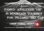 Image of skiing Obergurgl Austria, 1932, second 7 stock footage video 65675061022
