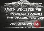 Image of skiing Obergurgl Austria, 1932, second 9 stock footage video 65675061022