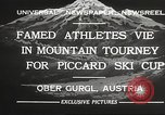 Image of skiing Obergurgl Austria, 1932, second 10 stock footage video 65675061022