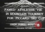 Image of skiing Obergurgl Austria, 1932, second 11 stock footage video 65675061022
