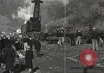 Image of wrecked locomotive Powellton West Virginia USA, 1934, second 9 stock footage video 65675061025