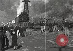 Image of wrecked locomotive Powellton West Virginia USA, 1934, second 11 stock footage video 65675061025