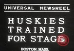 Image of dogs training for stage performance Boston Massachusetts USA, 1934, second 1 stock footage video 65675061028