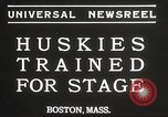 Image of dogs training for stage performance Boston Massachusetts USA, 1934, second 7 stock footage video 65675061028