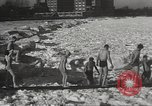 Image of Pplar Bear swim Chicago Illinois USA, 1934, second 10 stock footage video 65675061029