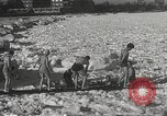 Image of Pplar Bear swim Chicago Illinois USA, 1934, second 12 stock footage video 65675061029