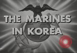 Image of marines Korea, 1952, second 10 stock footage video 65675061058