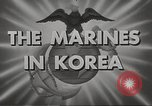 Image of marines Korea, 1952, second 11 stock footage video 65675061058