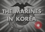 Image of marines Korea, 1952, second 12 stock footage video 65675061058