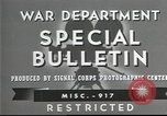 Image of American soldiers fire mortar in World War I United States USA, 1944, second 12 stock footage video 65675061086